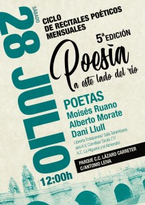 vuelve la poesia a Carabanchel